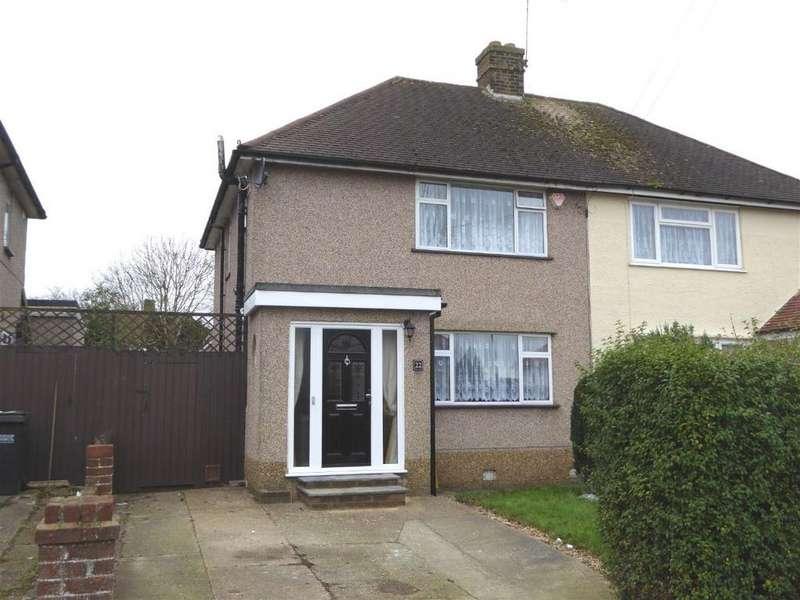 3 Bedrooms Semi Detached House for sale in Montacute Road, New Addington, Croydon, CR0 0JE