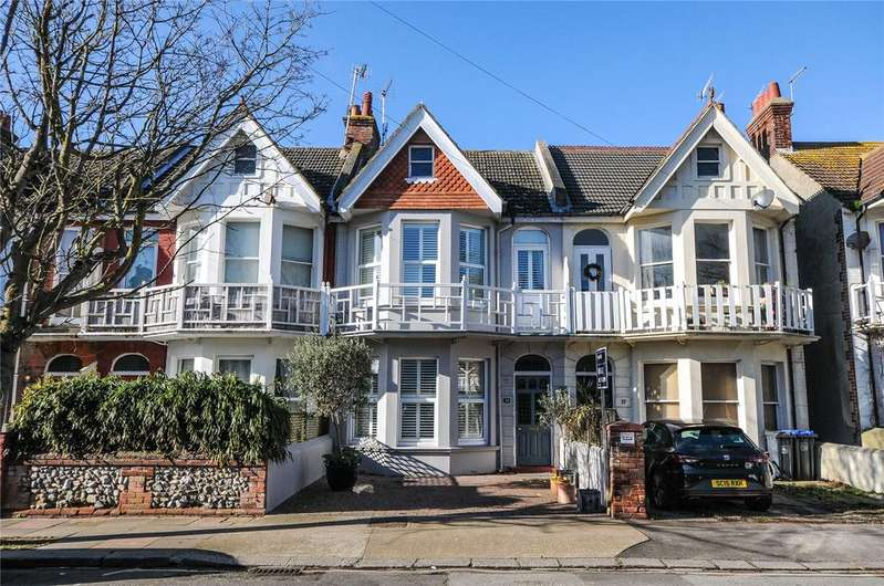 4 Bedrooms Terraced House for sale in Alexandra Road, Worthing, West Sussex, BN11