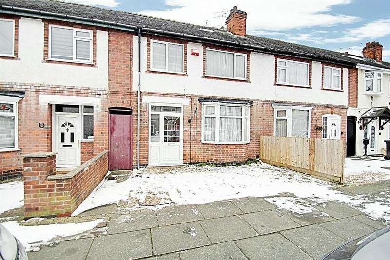 3 Bedrooms Terraced House for sale in Percy Road, Leicester