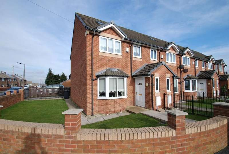 3 Bedrooms End Of Terrace House for sale in King Edward Street, Barnsley S71