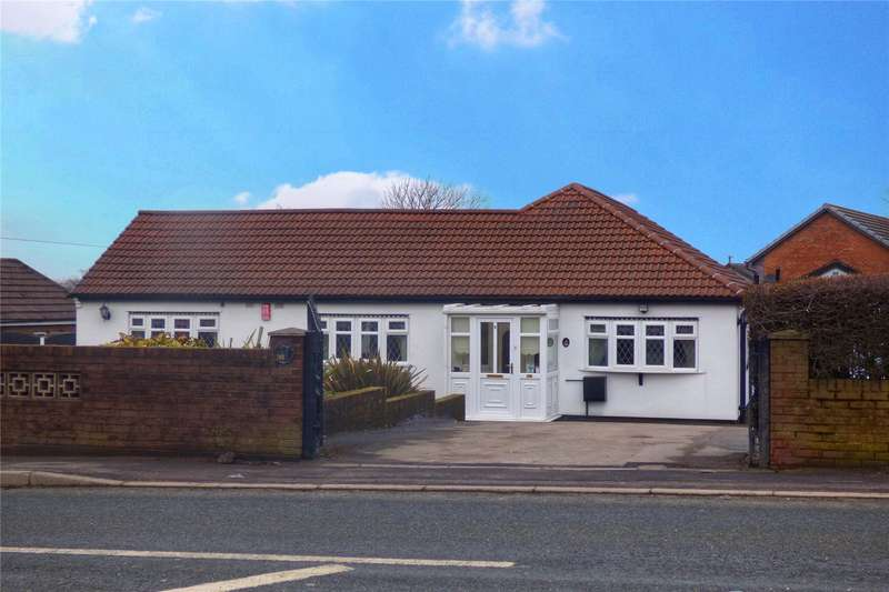 3 Bedrooms Detached Bungalow for sale in Ripponden Road, Moorside, Oldham, Greater Manchester, OL1