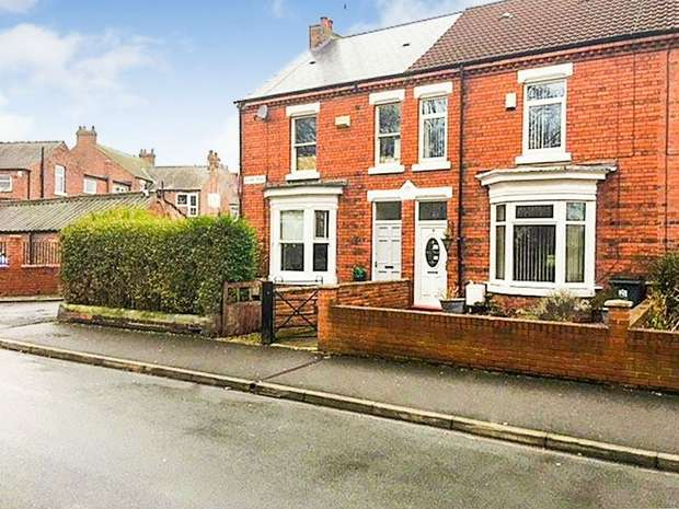 3 Bedrooms End Of Terrace House for sale in Glebe Road, Darlington, Durham