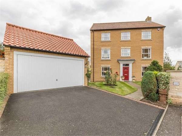 5 Bedrooms Detached House for sale in Gwash Close, Ryhall, Stamford, Lincolnshire