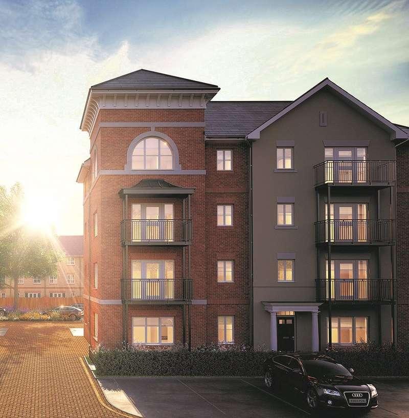 2 Bedrooms Flat for sale in Jubilee Meadows, Felcott Road, Hersham, Surrey, KT12