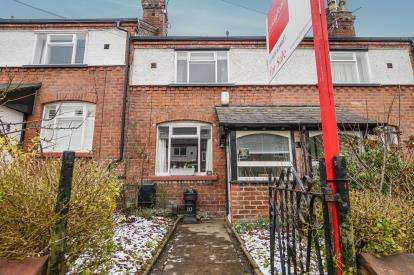 2 Bedrooms Terraced House for sale in Moordale Road, Knutsford, Cheshire