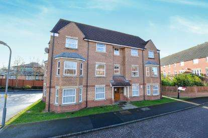 2 Bedrooms Flat for sale in Weavers Green, Northallerton, .