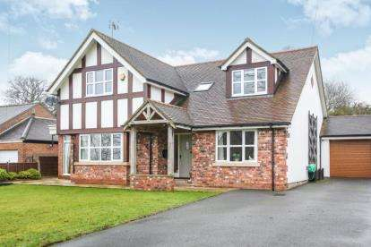 4 Bedrooms Detached House for sale in Church Lane, Henbury, Macclesfield, Cheshire