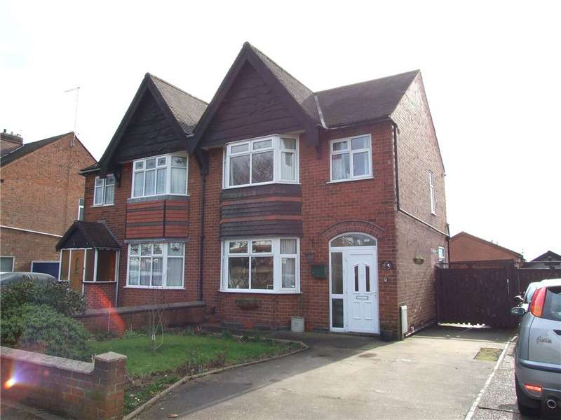 3 Bedrooms Semi Detached House for sale in Derby Road, Chaddesden, Derby, Derbyshire, DE21