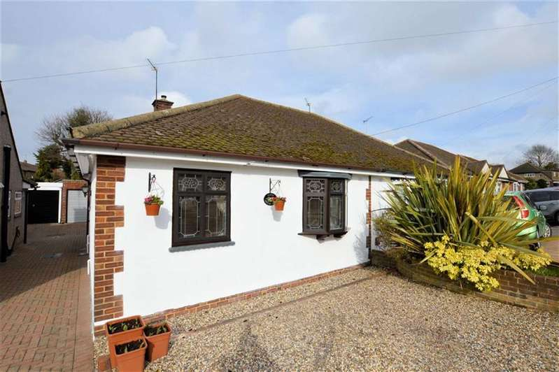 2 Bedrooms Semi Detached Bungalow for sale in Princes Close, North Weald