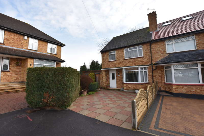 3 Bedrooms Semi Detached House for sale in Coates Way, Garston , Watford