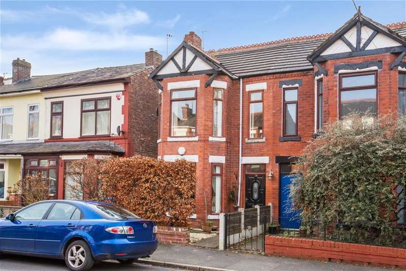3 Bedrooms Semi Detached House for sale in Gloucester Road, Salford, Manchester, M6 8PP