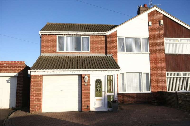 3 Bedrooms Semi Detached House for sale in Mark Avenue, Norton TS20
