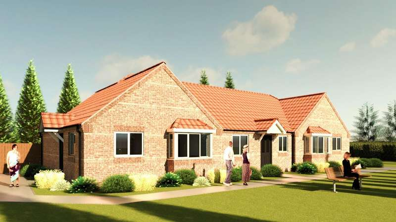 2 Bedrooms Bungalow for sale in Ruskington, Sleaford
