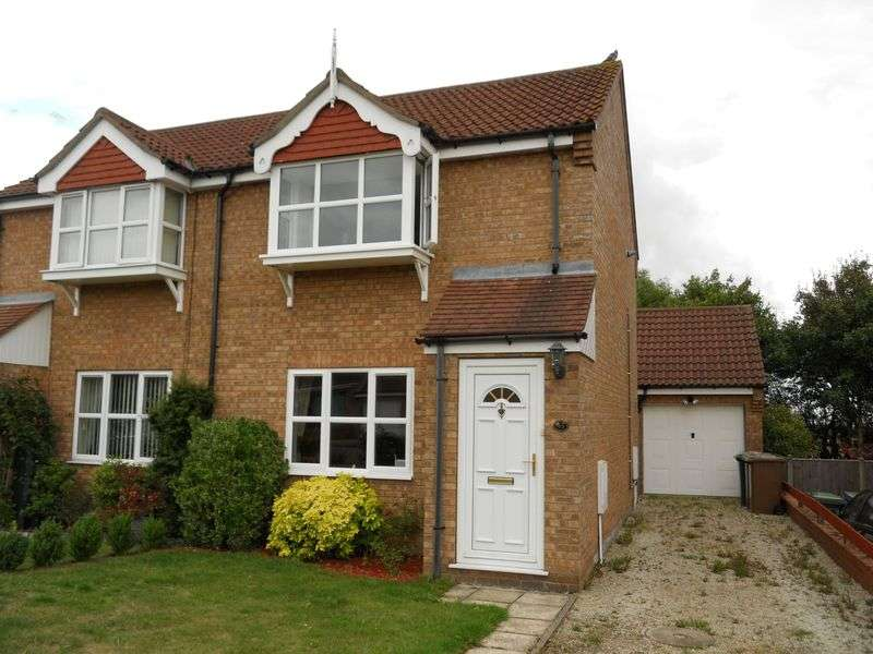 2 Bedrooms Semi Detached House for rent in Shardloes, Lincoln