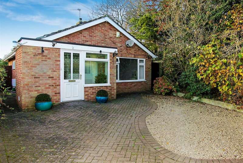 2 Bedrooms Bungalow for sale in Wilfred Gardens, Ashby-De-La-Zouch, L...