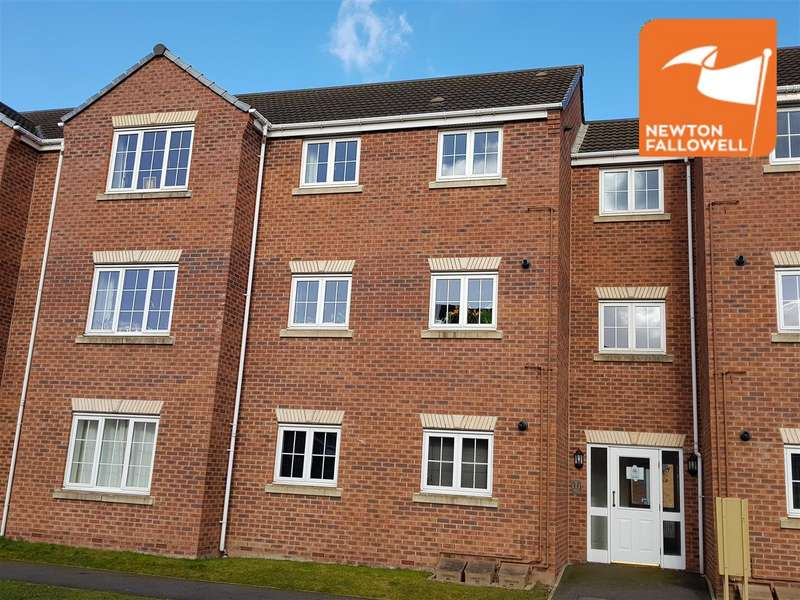 2 Bedrooms Apartment Flat for sale in Ruby Way, Mansfield