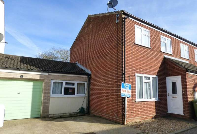 4 Bedrooms Semi Detached House for sale in Porter Road, Long Stratton