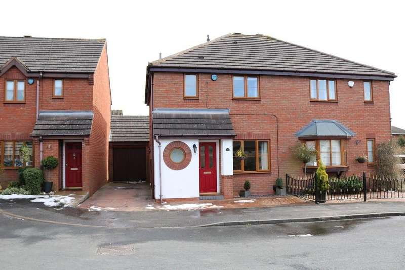 3 Bedrooms Semi Detached House for sale in Enderby Close, Bentley Heath