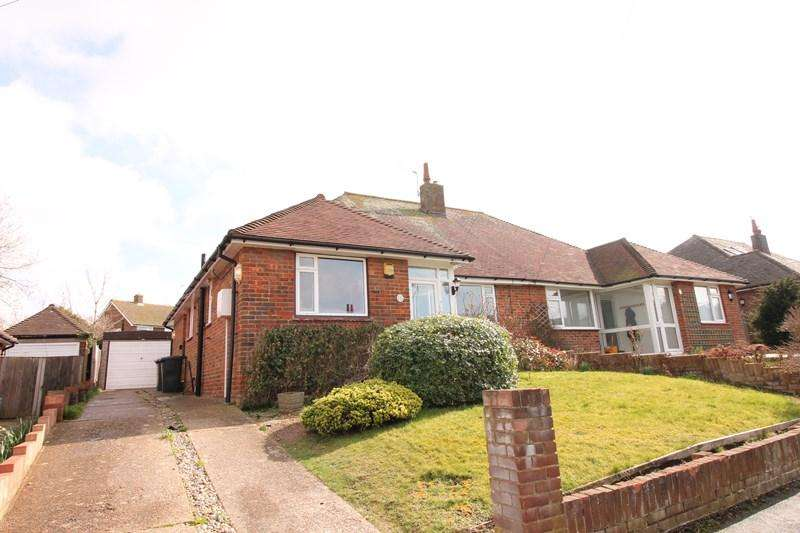 2 Bedrooms Semi Detached Bungalow for sale in Summerlands Road, Eastbourne