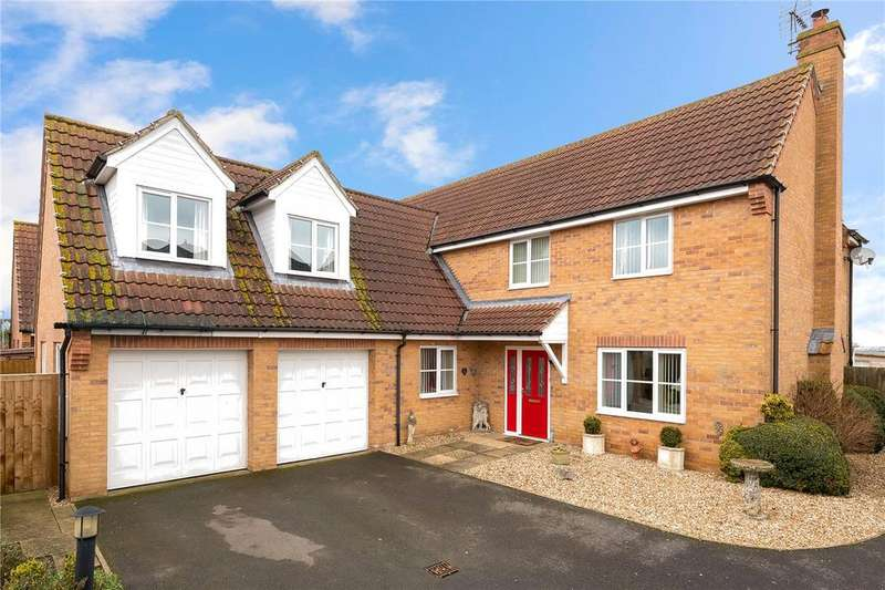 5 Bedrooms Detached House for sale in Willow Lane, Billinghay, Lincoln, Lincolnshire, LN4