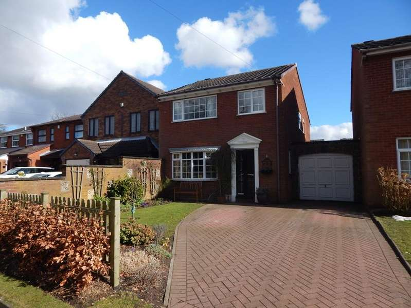 4 Bedrooms Link Detached House for sale in Princess Close, Chase Terrace, Burntwood WS7