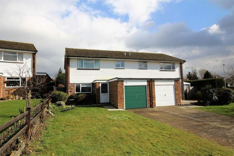 3 Bedrooms Semi Detached House for sale in Olives Meadow, Uckfield, East Sussex