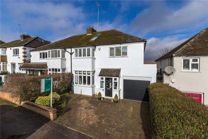 4 Bedrooms Semi Detached House for sale in Park Mount, Harpenden, Hertfordshire