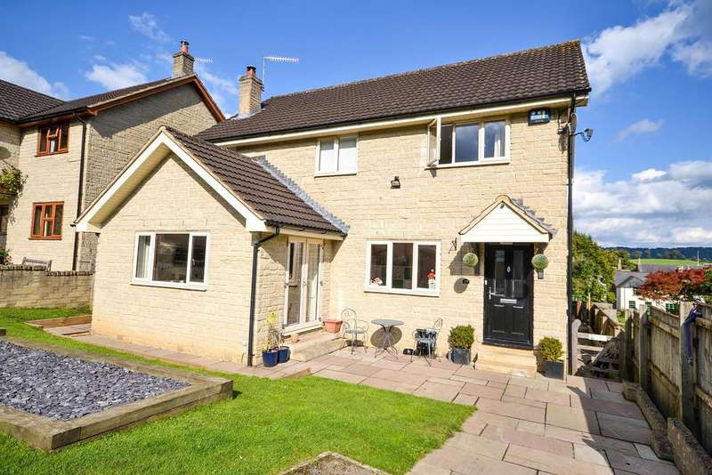 4 Bedrooms Detached House for sale in Hardings Drive, Dursley, GL11 4LP