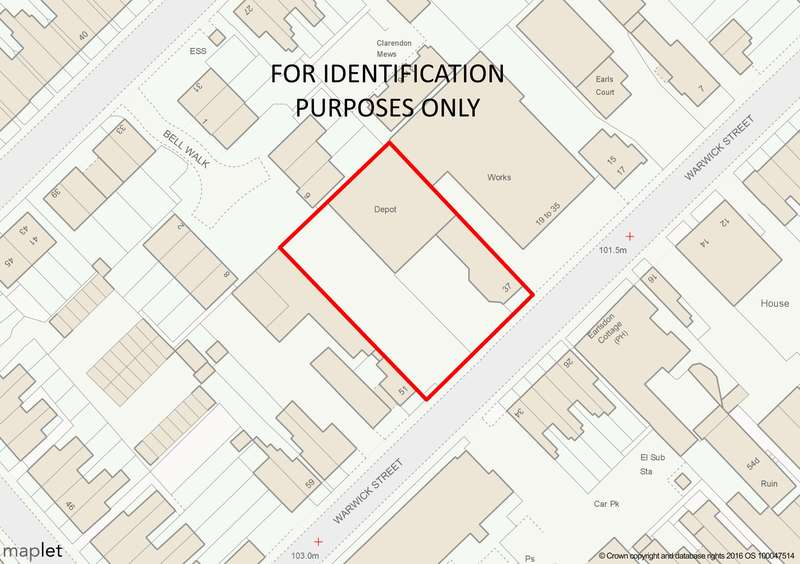 Land Commercial for sale in Land at Warwick Street,Earlsdon,Coventry,West Midlands,CV5 6ET, Earlsdon, Coventry