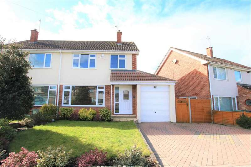 3 Bedrooms Semi Detached House for sale in Orchard Boulevard, Oldland Common, Bristol