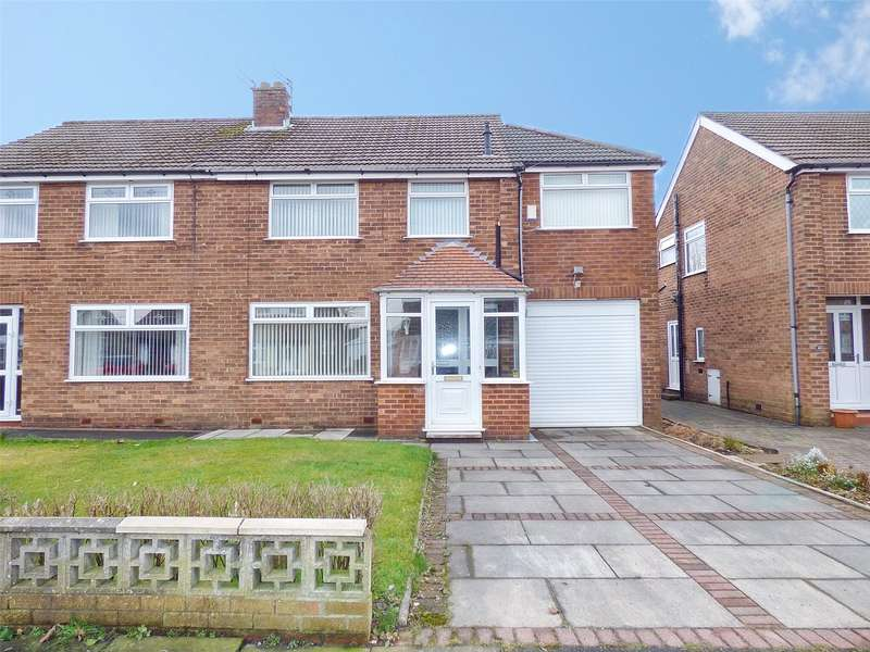 4 Bedrooms Semi Detached House for sale in Hardfield Road, Alkrington, Middleton, Manchester, M24
