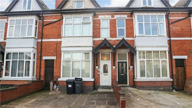 4 Bedrooms Terraced House for sale in Chestnut Road, Birmingham, West Midlands