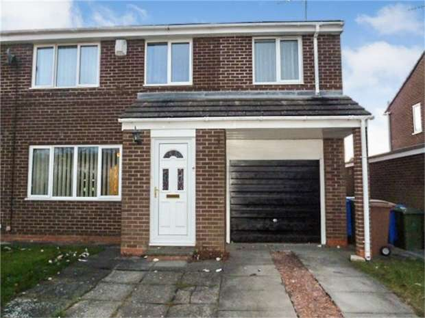 4 Bedrooms Semi Detached House for sale in Henley Close, Cramlington, Northumberland