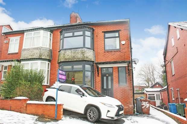 4 Bedrooms Semi Detached House for sale in Selkirk Avenue, Oldham, Lancashire