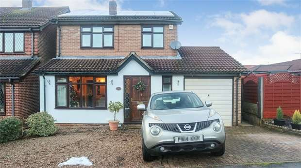3 Bedrooms Detached House for sale in Briar Close, Blackfordby, Swadlincote, Leicestershire