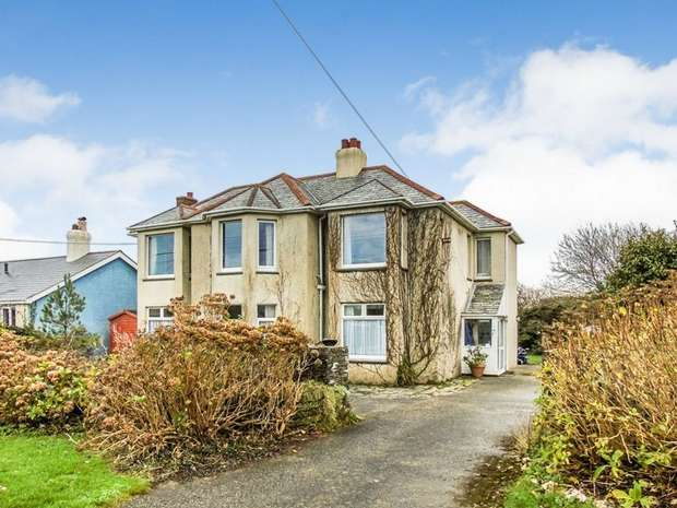 5 Bedrooms Detached House for sale in West Down Road, Delabole, Cornwall