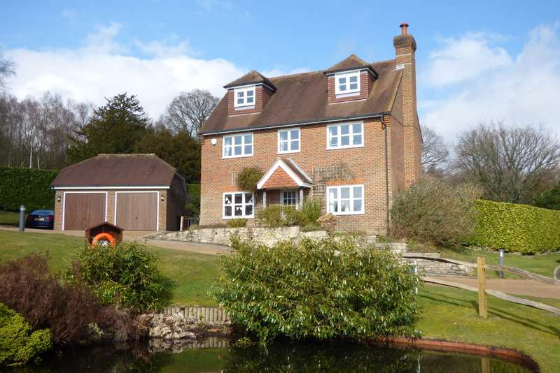 4 Bedrooms Detached House for sale in Hurst Park, Midhurst, GU29