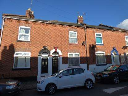 2 Bedrooms Terraced House for sale in Military Road, The Mounts, Northampton, Northamptonshire