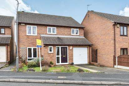 4 Bedrooms Detached House for sale in Hill Rise Close, Littleover, Derby, Derbyshire