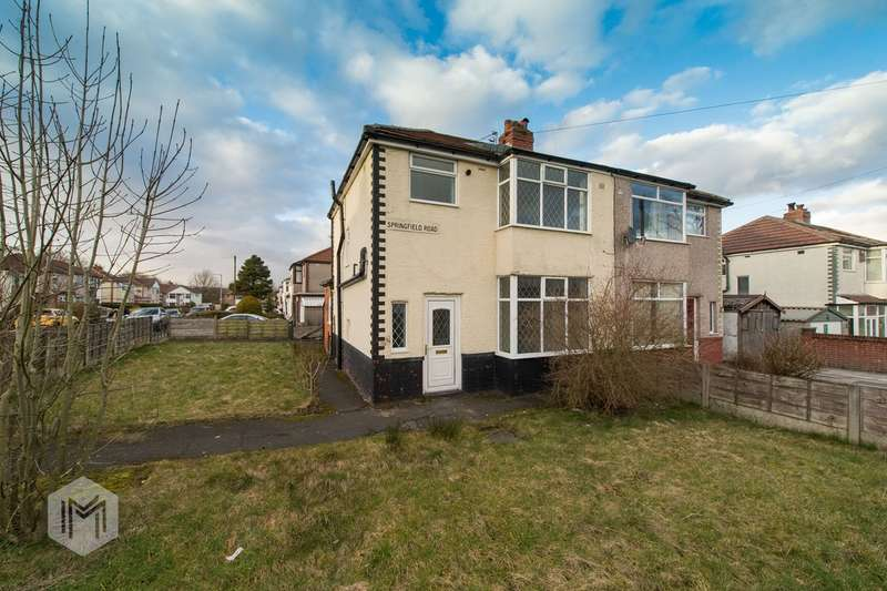3 Bedrooms Semi Detached House for sale in Kingsland Road, Farnworth, Bolton, BL4