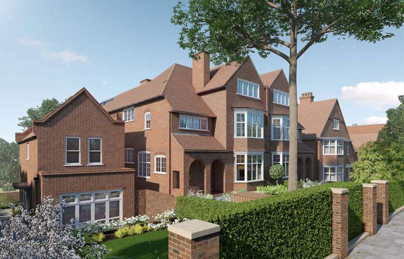 4 Bedrooms Flat for sale in Kidderpore Green, Hampstead, NW3