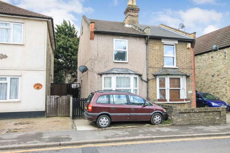 3 Bedrooms Semi Detached House for sale in Brentwood Road, Romford, RM1
