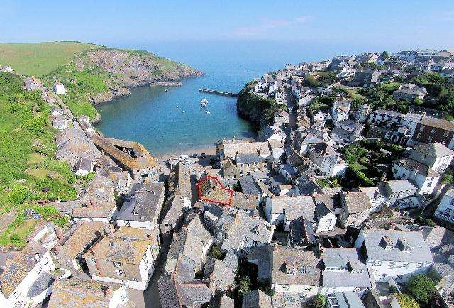 4 Bedrooms House for sale in Kittiwake Cottage, 7 9 Middle Street, Port Isaac