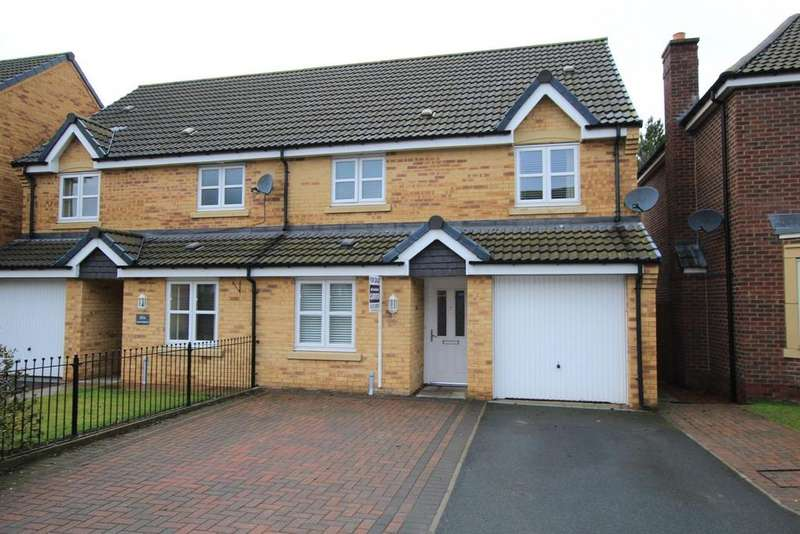3 Bedrooms Semi Detached House for sale in Annand Way, Newton Aycliffe
