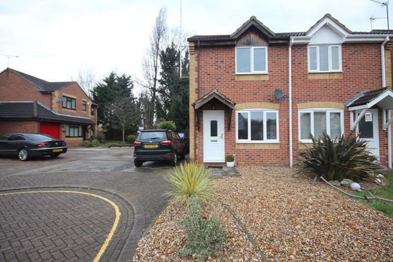 2 Bedrooms Semi Detached House for sale in Jackson Close, Greenhithe, DA9