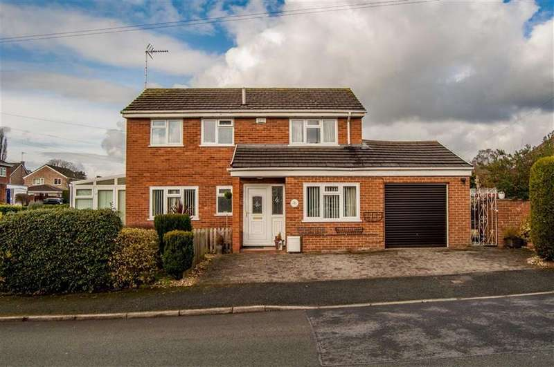 3 Bedrooms Detached House for sale in Birch Drive, Gresford, Wrexham, Gresford