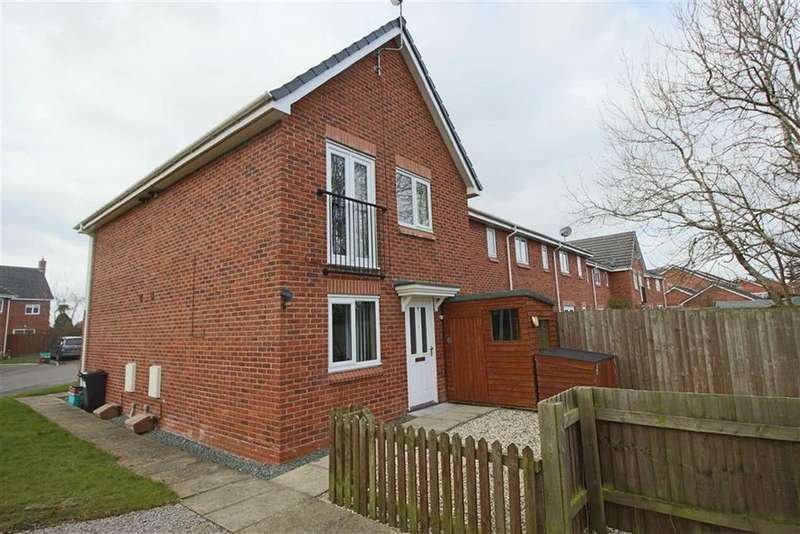 1 Bedroom Semi Detached House for sale in 8, Hafod Cottages, Four Crosses, Llanymynech, Powys, SY22