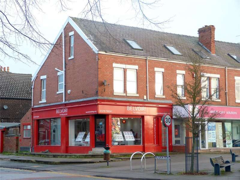 Plot Commercial for sale in Nantwich Road, Crewe, Cheshire, CW2