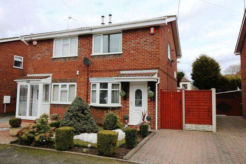 2 Bedrooms Semi Detached House for sale in Pickwick Place, Bilston