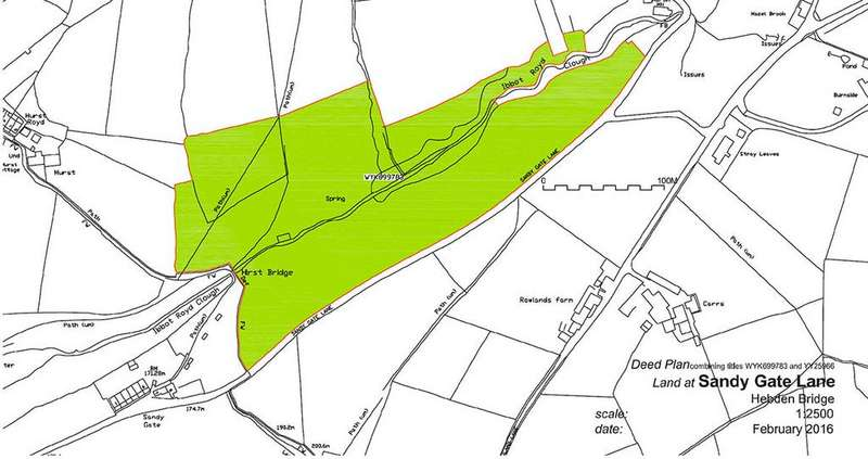 Land Commercial for sale in Sandy Gate, Hebden Bride HX7